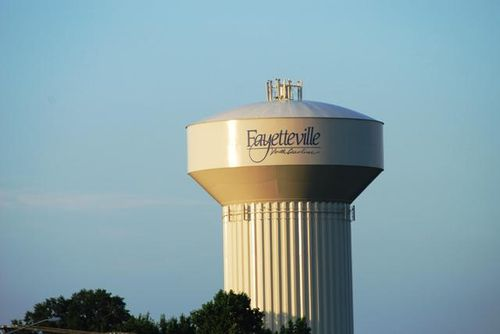 Fayetteville Water Tower
